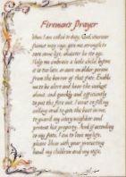 Fireman's Prayer - Print