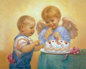 Child's Birthday - Print