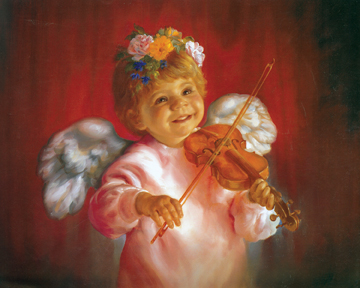 Violin Angel - Print