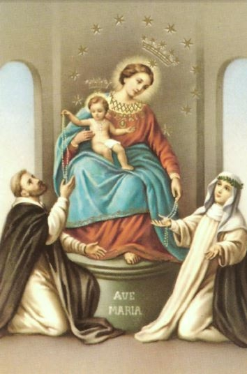 Our Lady - Rosary - Print