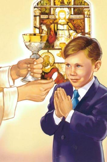 Communion Boy - Print