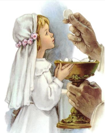 Gerffert First Communion Print - Girl - 100/pk