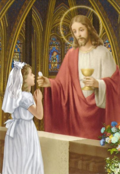 Communion Girl - Print