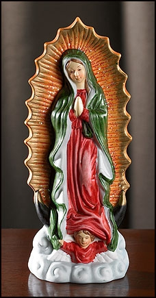 Our Lady of Guadalupe Statue - 6/pk