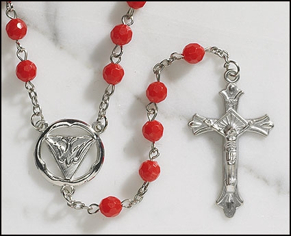 Faceted Confirmation Rosary - 12/pk