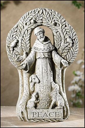 St. Francis Peace Tree Figurine