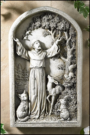 Avalon Gallery™ St. Francis Plaque