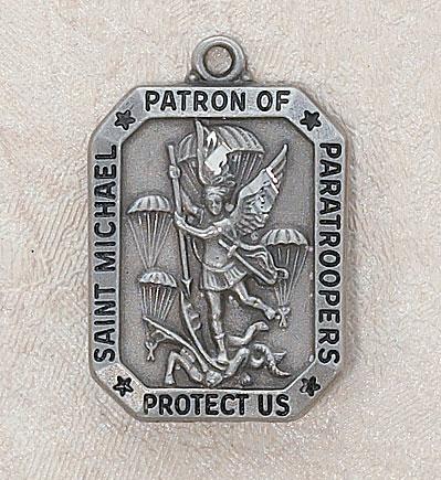 St. Florian Pewter Medal