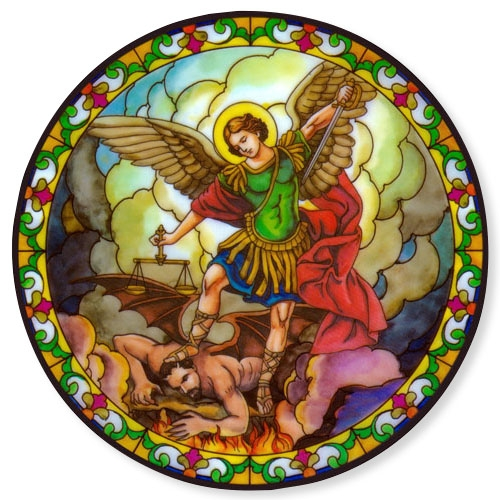 St. Michael Static Sticker