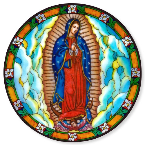 Our Lady of Guadalupe Static Sticker