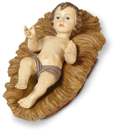 Infant Jesus with Manger