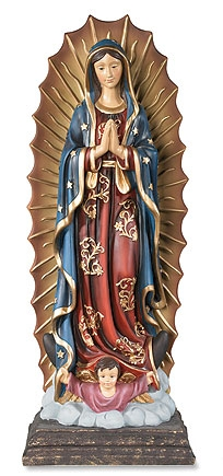 "12-1/2"" Our Lady of Guadalupe Statue"