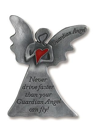 Guardian Angel Never Fly Visor Clip - 12/pk