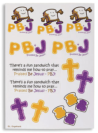 PBJ Stickers