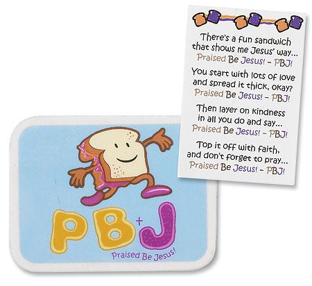 PBJ Eraser - 24/pk