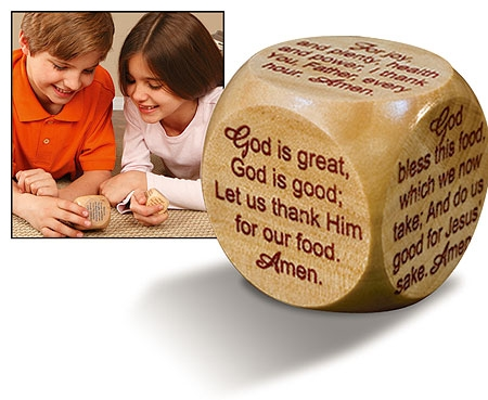 Large Prayer Cube™ - Mealtime Prayers
