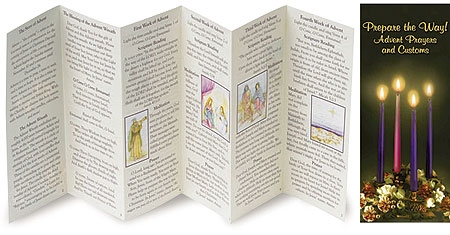 Prepare the Way! Advent Prayers and Customs Pamphlet - 100/pk