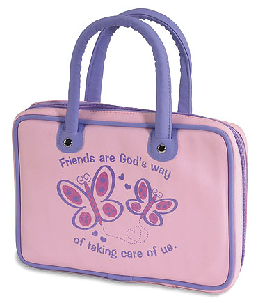 Friends are God's Way of Taking Care of Us Kid's Bible Cover - 6/pk