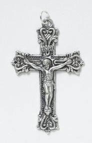 Fancy Scroll Rosary Crucifix - 50/pk