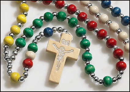 Rainbow Mission Rosary - 24/pk
