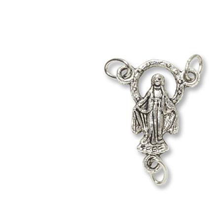 Miraculous Madonna Rosary Centerpiece