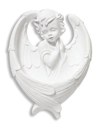 Adoring Angel Holy Water Font - 2/pk