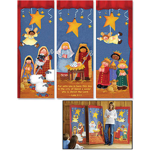 Nativity Pageant X-Banner Set