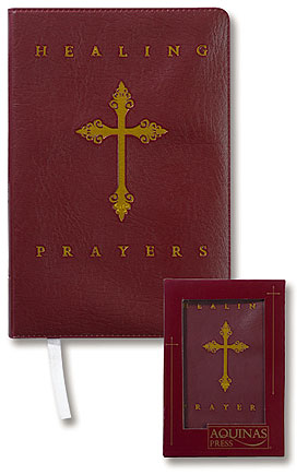 Aquinas Press® Prayer Book - Healing Prayers Deluxe Edition