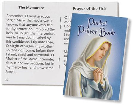 Contemporary Cover Pocket Prayer Book - 12/pk