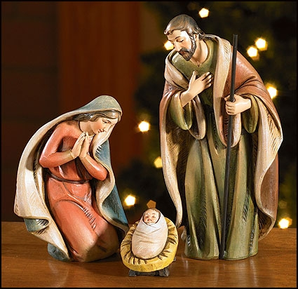Holy Family Nativity Set