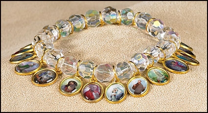 Devotional Saints Bracelet - 6/pk