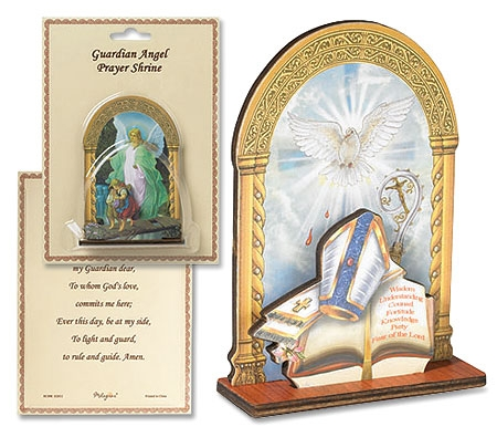 Confirmation Prayer Shrine - 6/PK