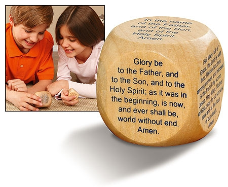 Large Prayer Cube™ - Favorite Catholic Prayers - 6/pk