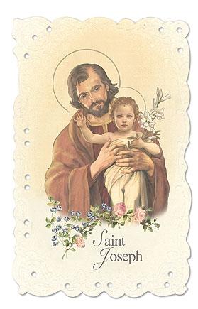St Joseph Holy Card - 24/PK