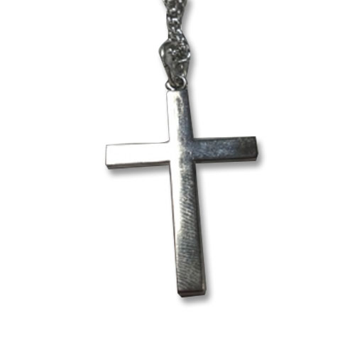 Silver Plated Cross