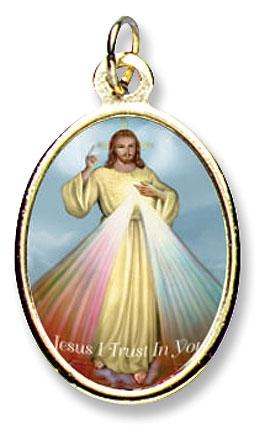 Divine Mercy Medal - 24/pk