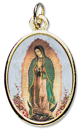 Our Lady of Guadalupe Medal - 24/pk