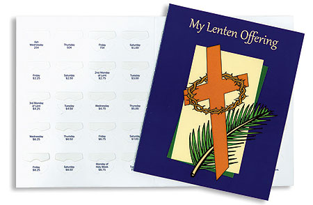 My Lenten Offering Folder - 50/pk