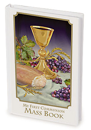 Body of Christ First Communion Mass Book - Girl