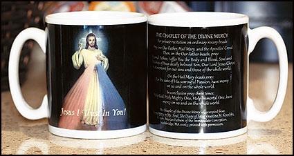 Divine Mercy Ceramic Mug  - 12/pk