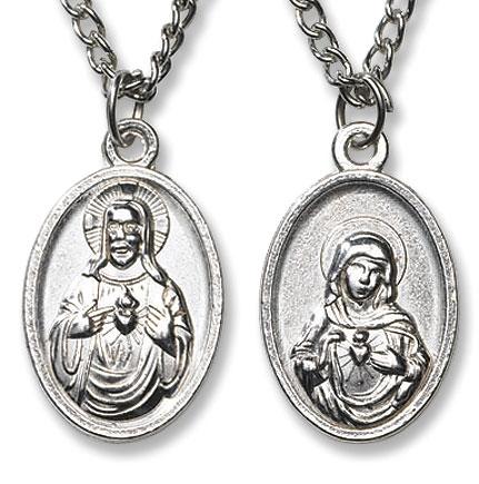 Sacred Heart Devotional Pendant in Gift Box - 12/pk