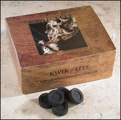 Kwik Lite Charcoal Tabs - 100/box
