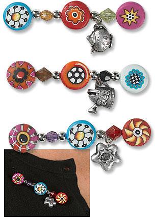 Fused Glass Bead Pendant
