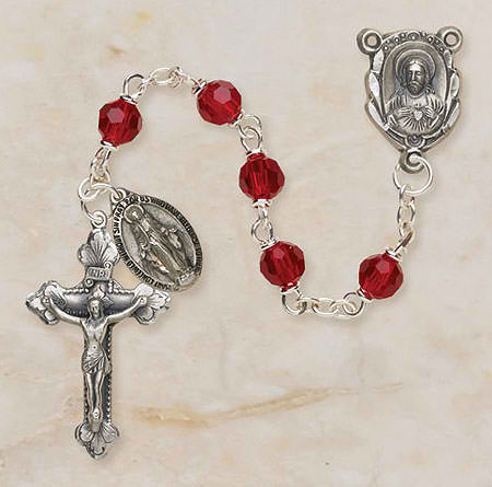 Ruby Vienna Collection Rosary