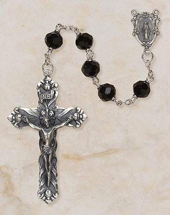 Black Vienna Collection Rosary