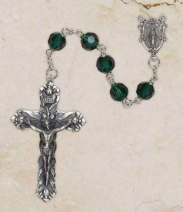 Emerald Vienna Collection Rosary
