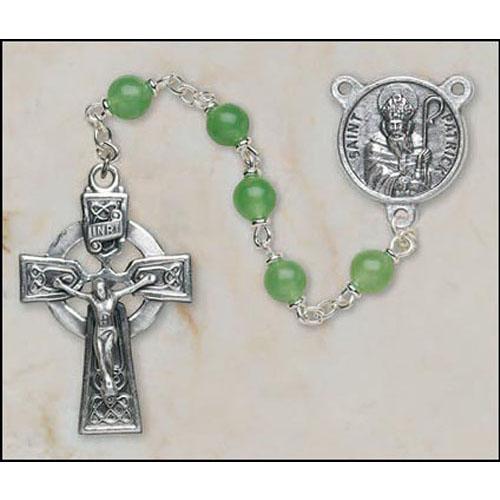 Aventurine St Patrick Rosary