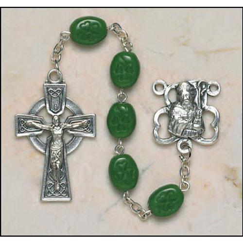Shamrock Bead St Patrick Rosary