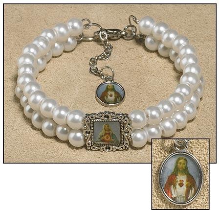 Sacred Heart Bracelet - 12/pk
