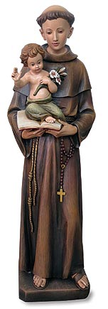 St Anthony Statue